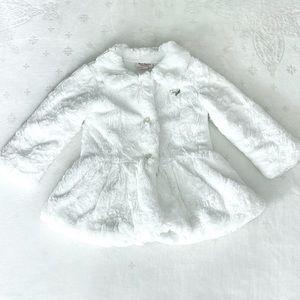Juicy Couture 4T Faux Fur Coat